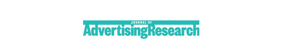 logo de la revista cientifica journal of advertising research de investigacion con neuromarketing de publicidad