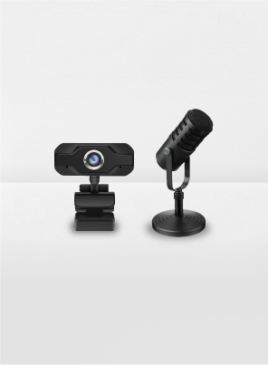 camera and microphone