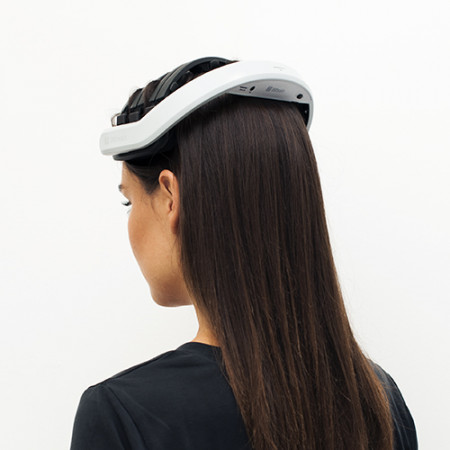 Back part of the EEG headset