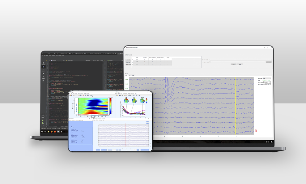 eeg software for eeg data acquisition and programming
