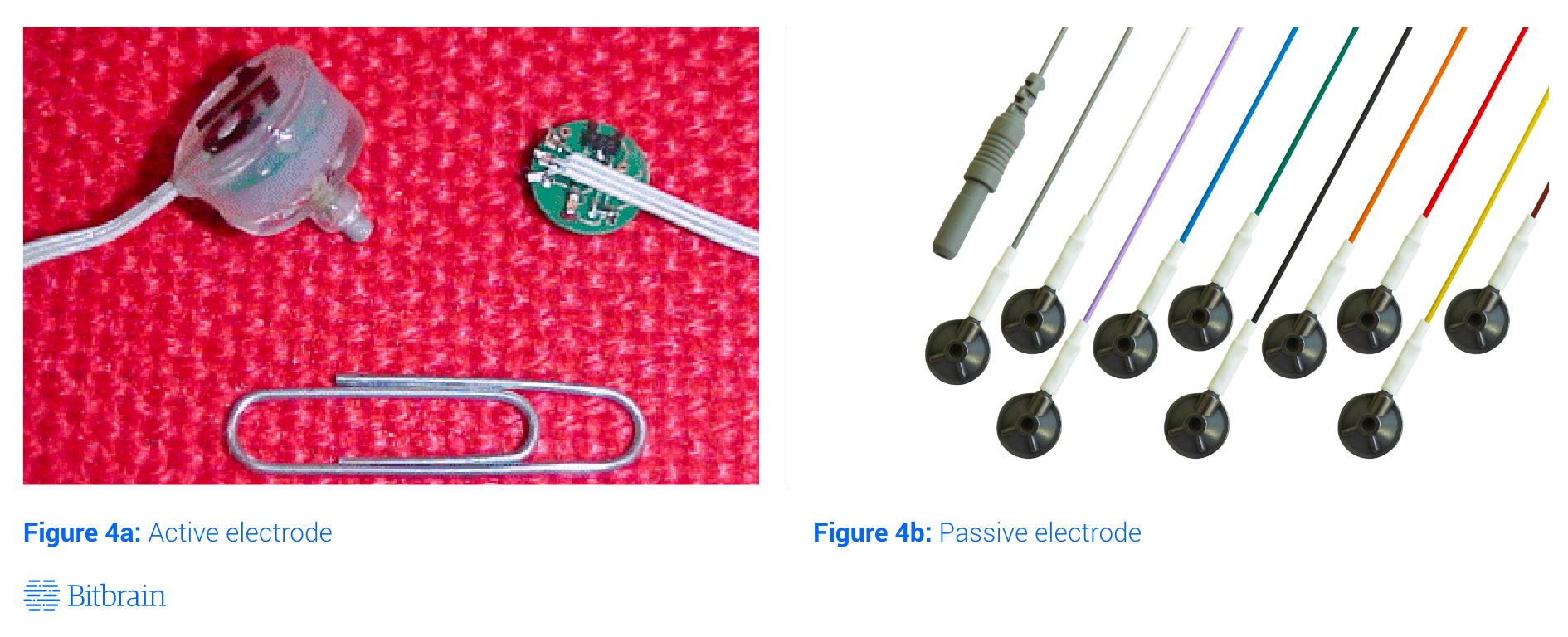 active and passive eeg electrodes