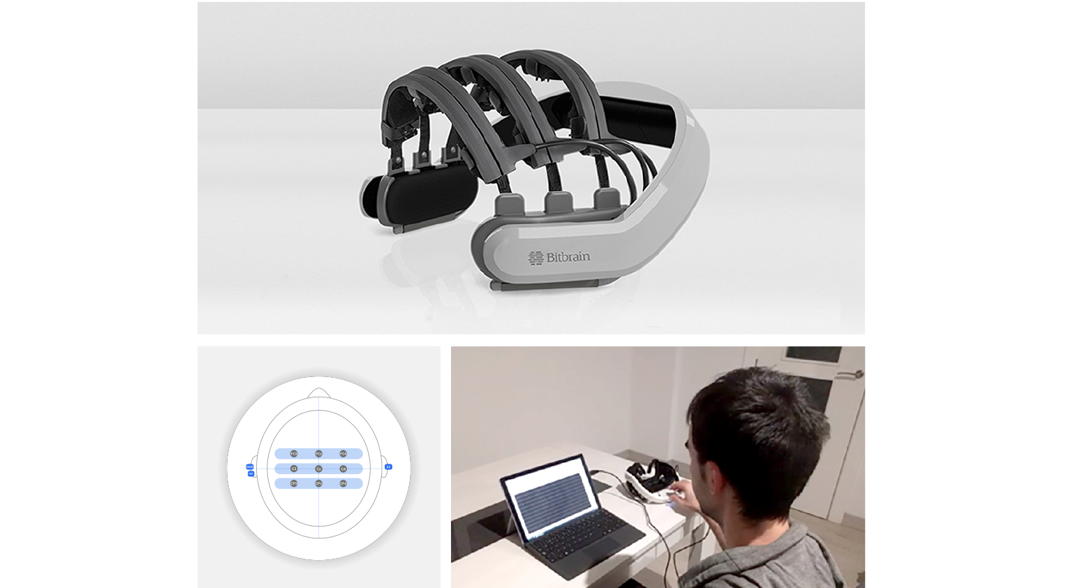 Hero dry eeg headset for neurorehabilitation