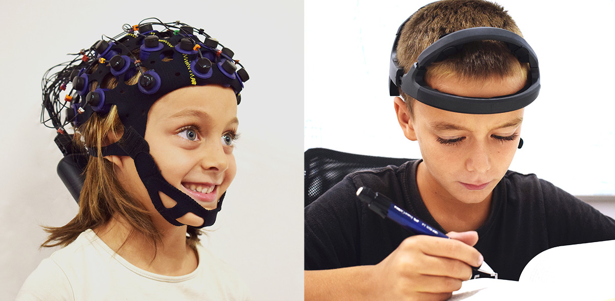 Kids with EEG for ADHD