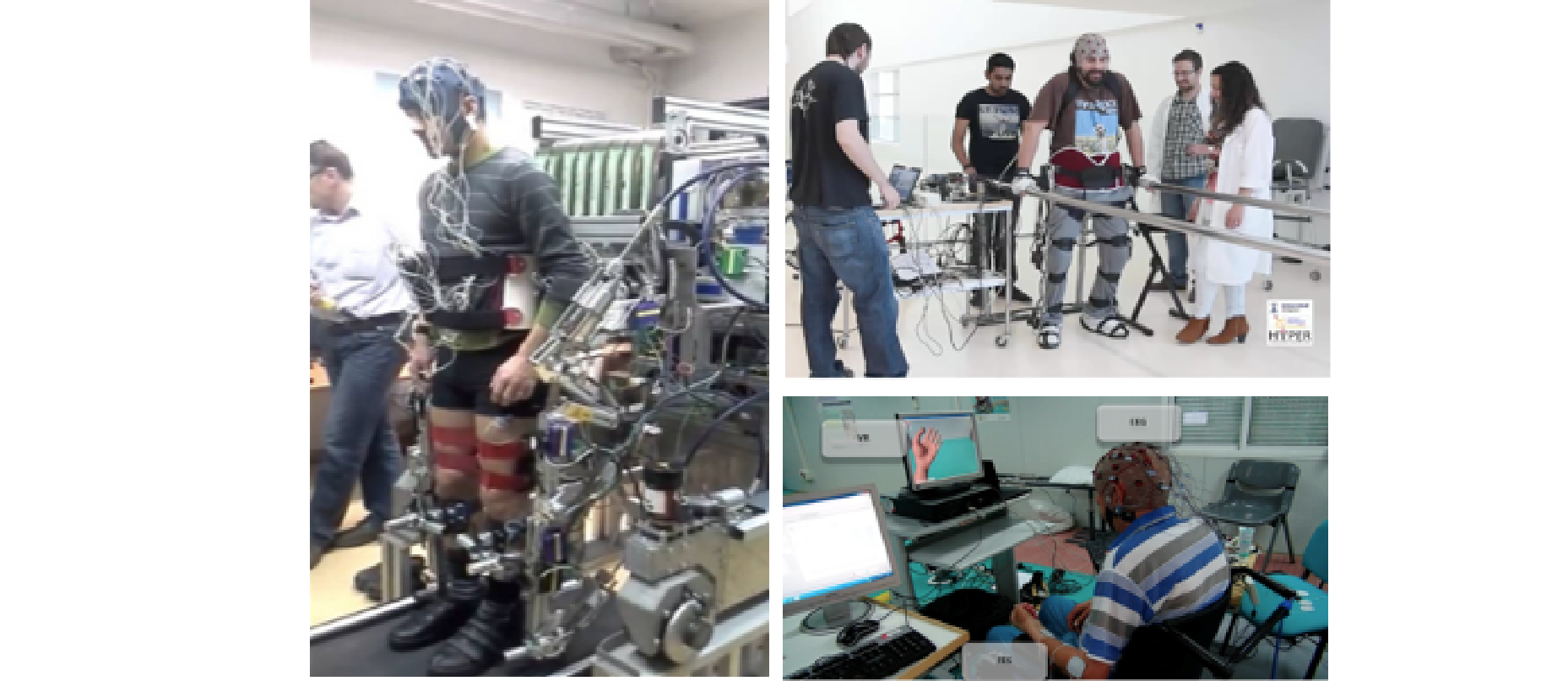 BCI controlled exo-skeleton for neurorehabilitation
